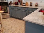 After - 2 Tone Cabinet Painting in Julington Creek, Jacksonville