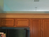 Completed Cabinet Painting Project in Mandarin, Jacksonville