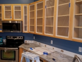 Before - 2 Tone Cabinet Painting in Julington Creek, Jacksonville
