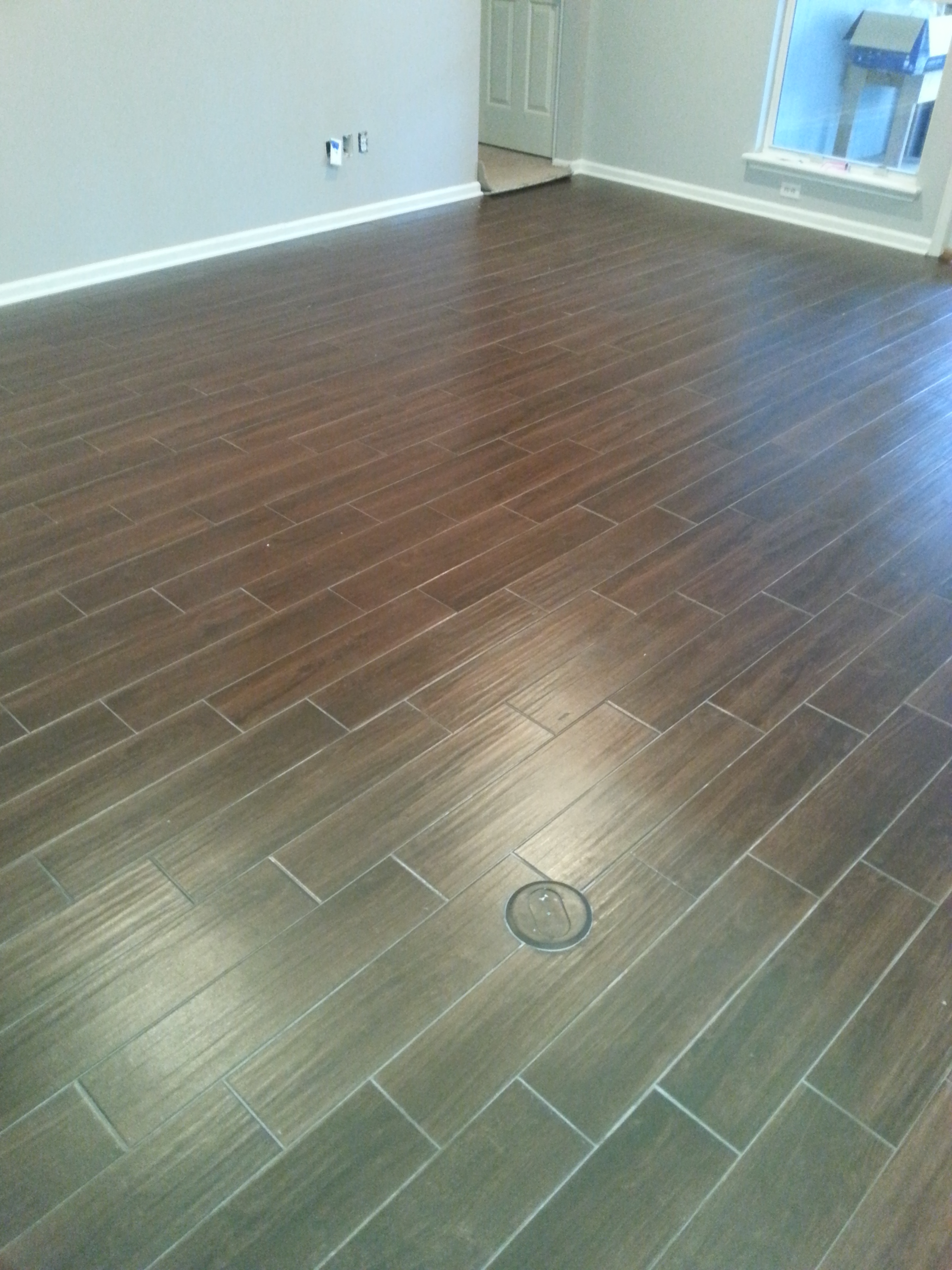 6 wide porcelain planks from prosource for Prosource flooring
