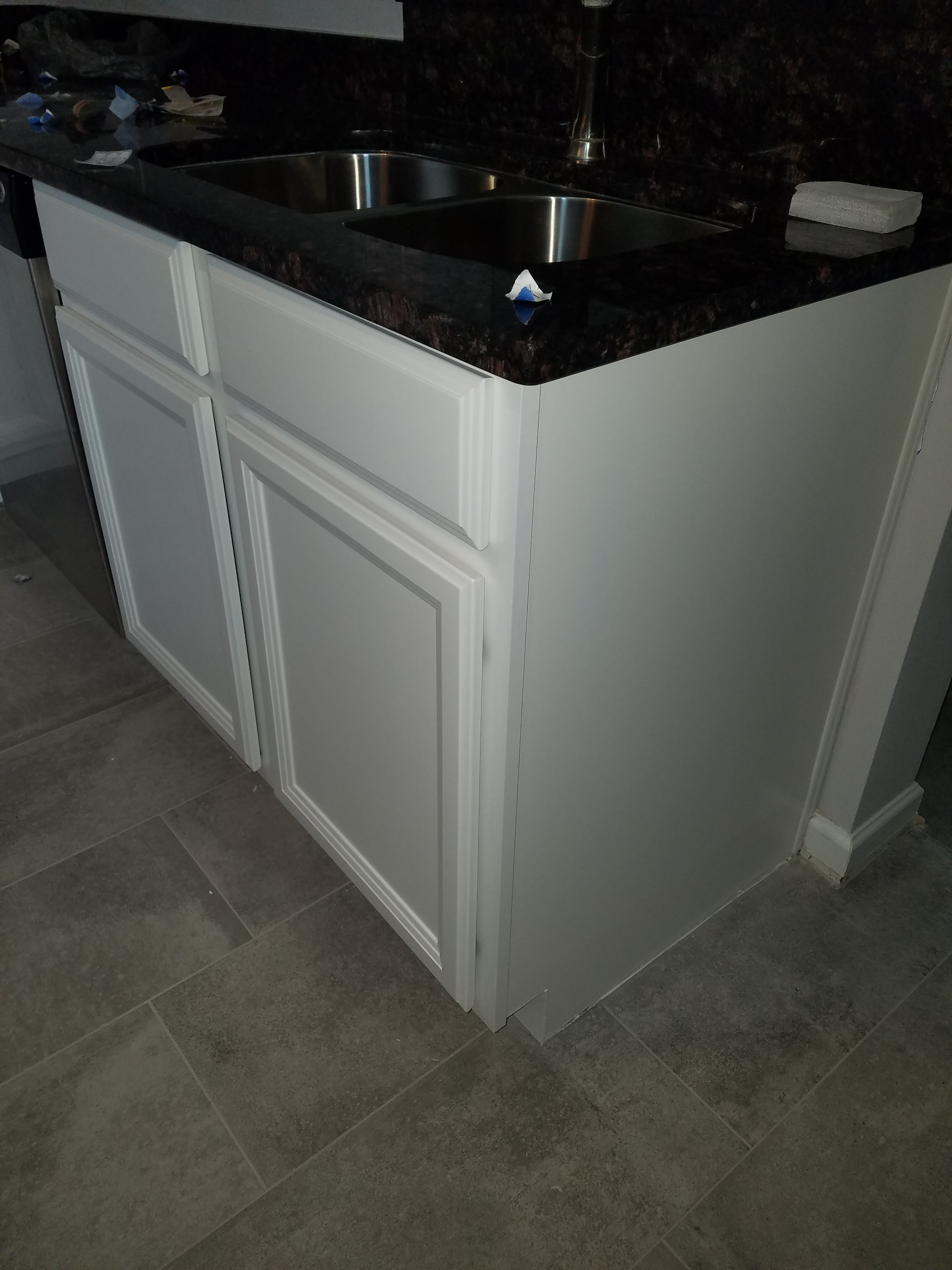 Cabinet painting in st john s county for Residential cabinets