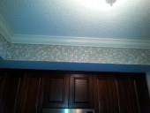 custom kitchen backsplash at Jacksonville beach job