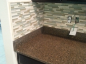 Custom Kitchen Backsplash for Jacksonville Golf & Country Club Home