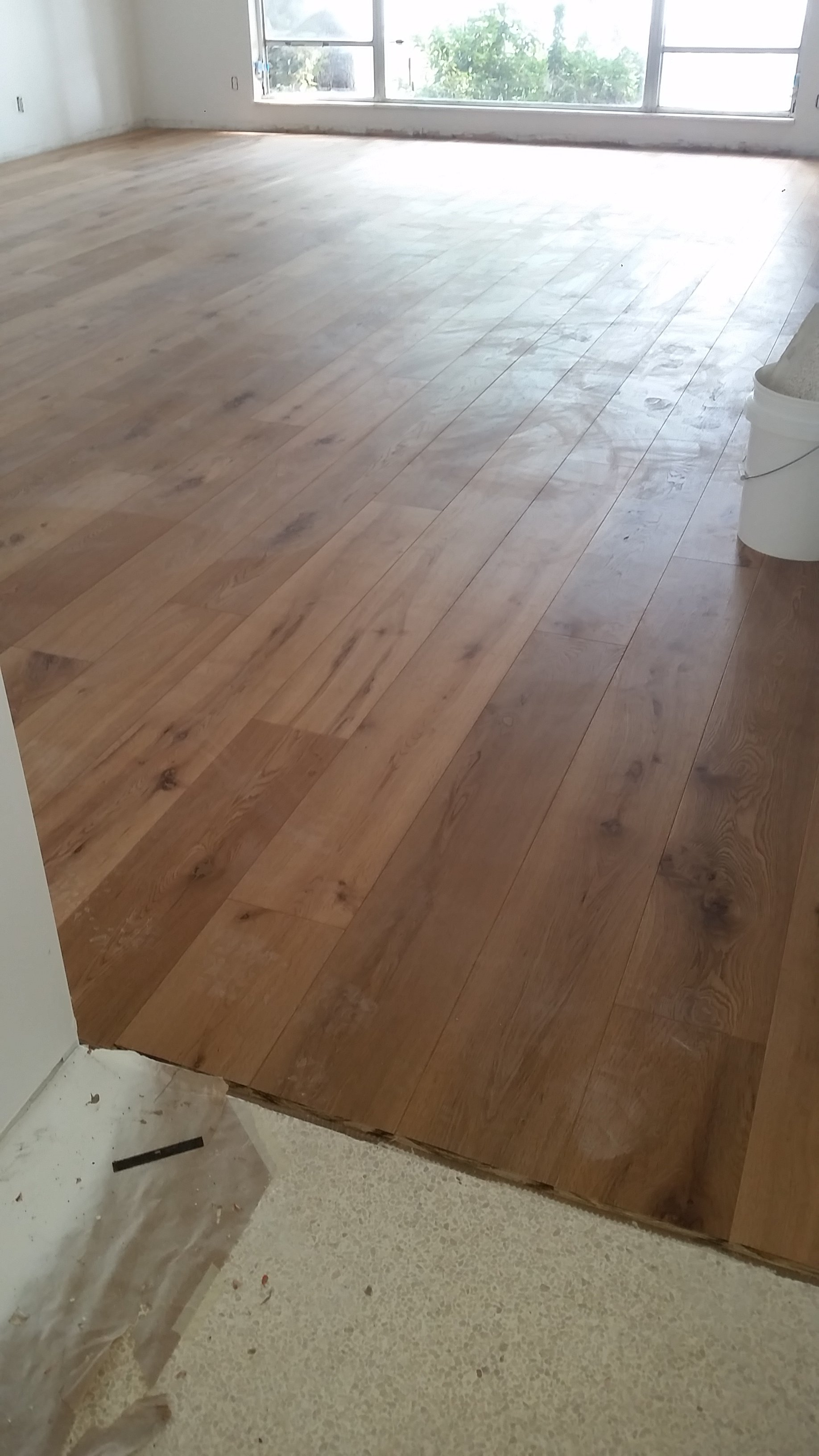 Engineered wood flooring installation near san jose for Residential wood flooring
