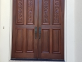 Front Door Restoration Jacksonville - Part 2B Second Stain