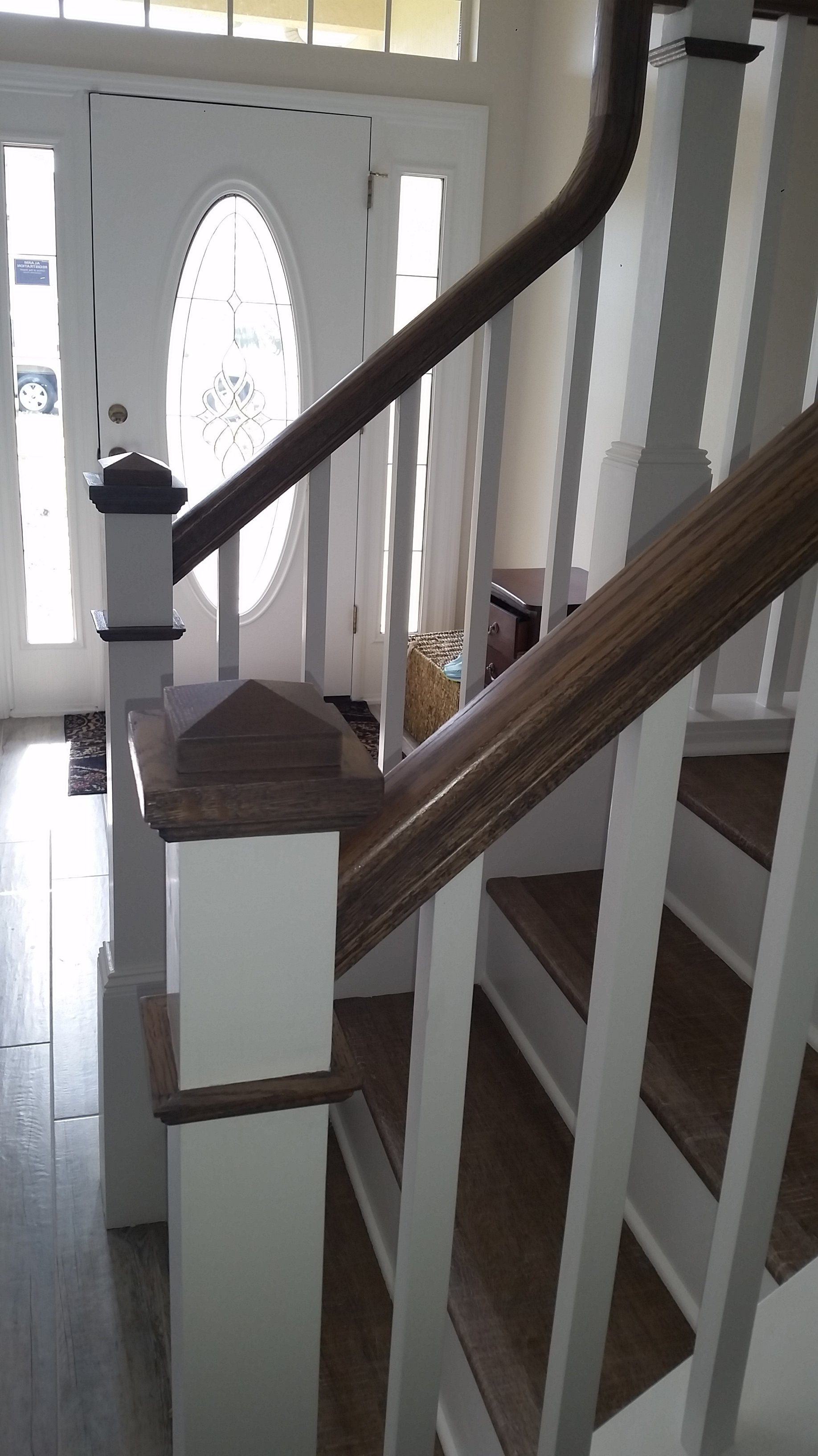 Handrail And Spindle Replacement