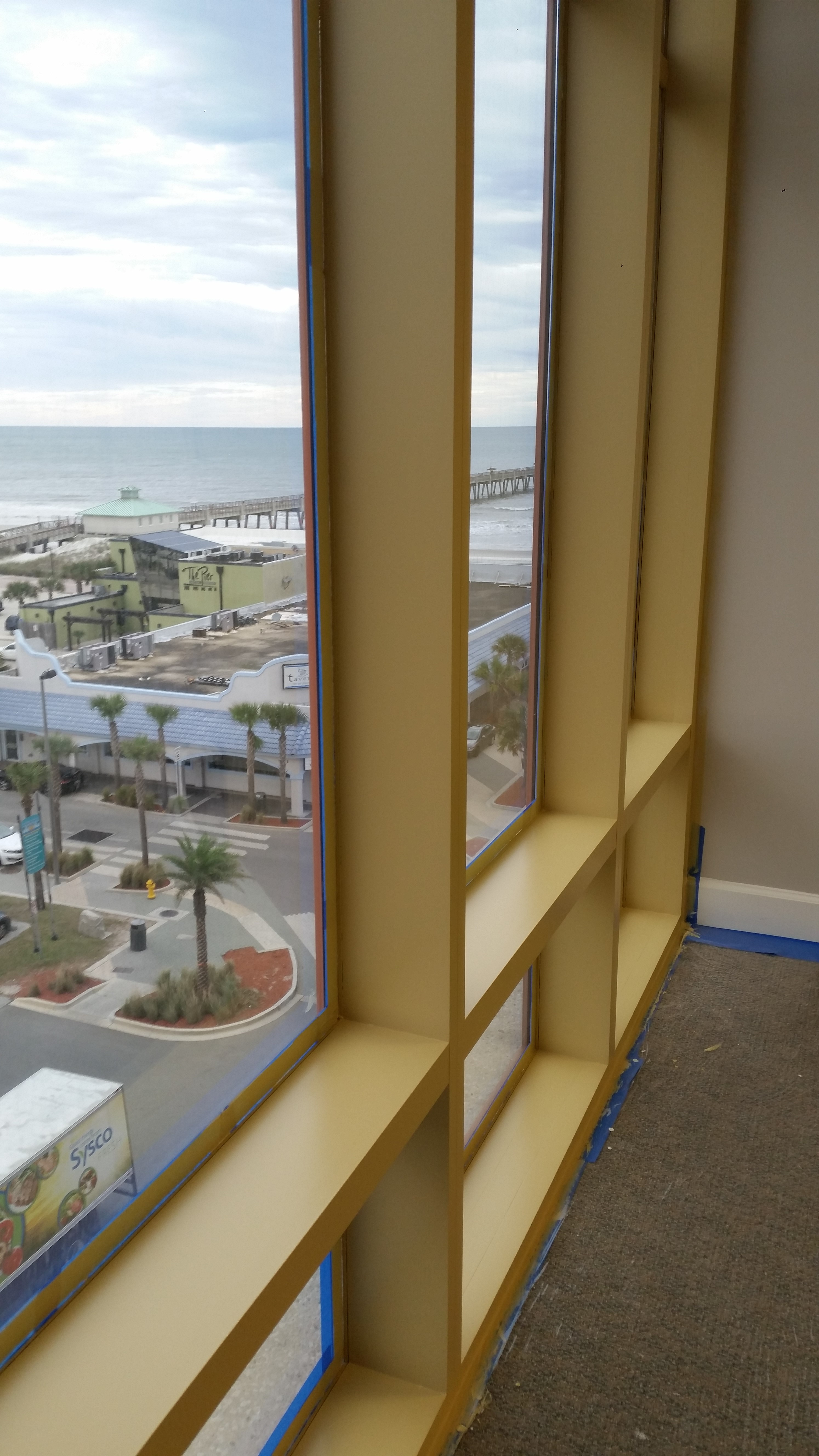 Interior Specialty Painting At The Metropolitan At Jacksonville Beach