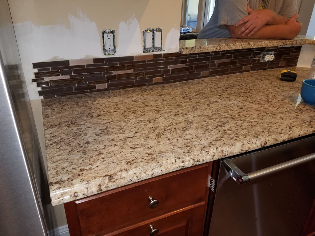 mosaic backsplash installation in mandarin jacksonville