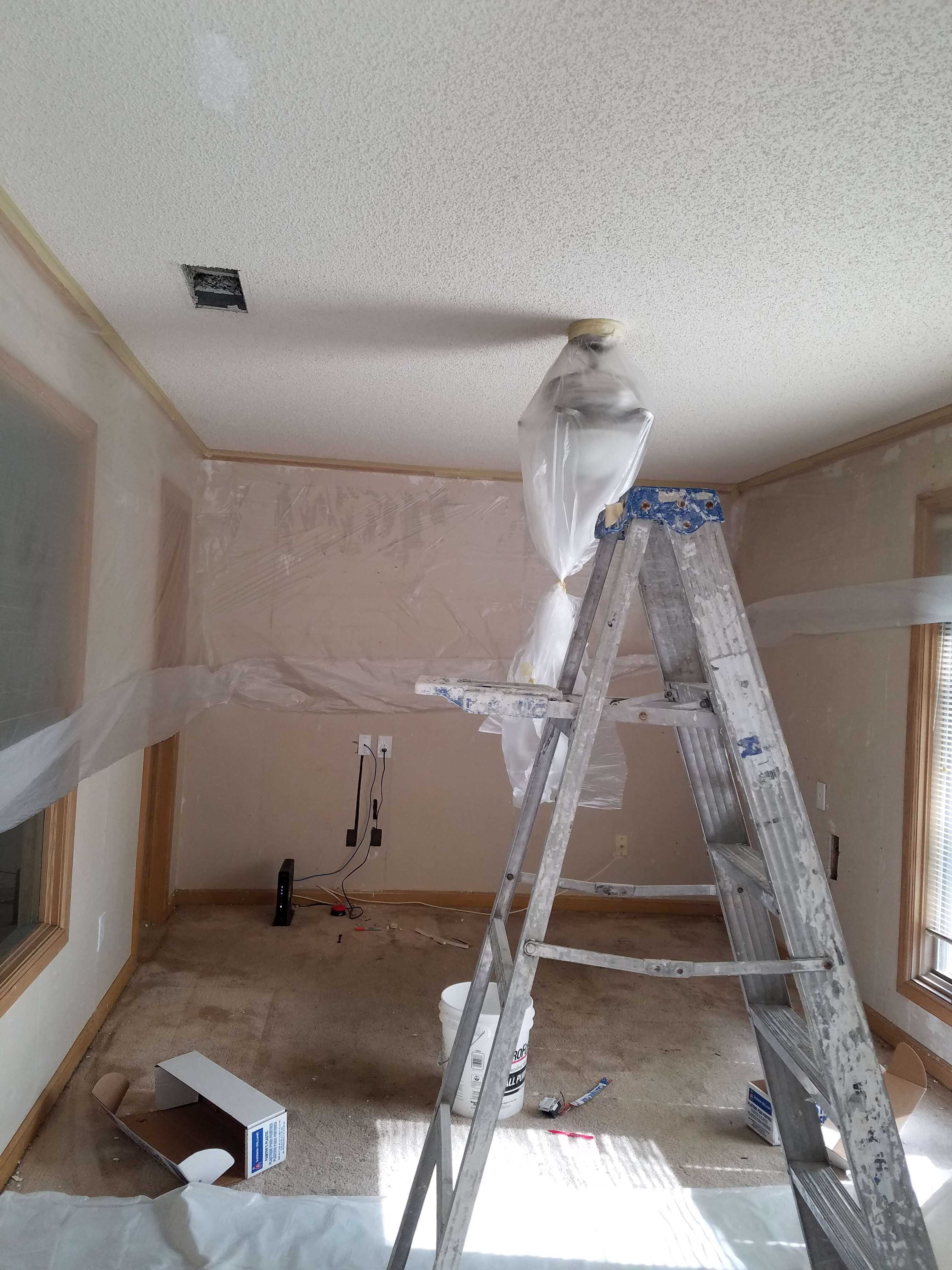 gs removal projects sprayed ceiling ricky ceilings popcorn knockdown and handyman img