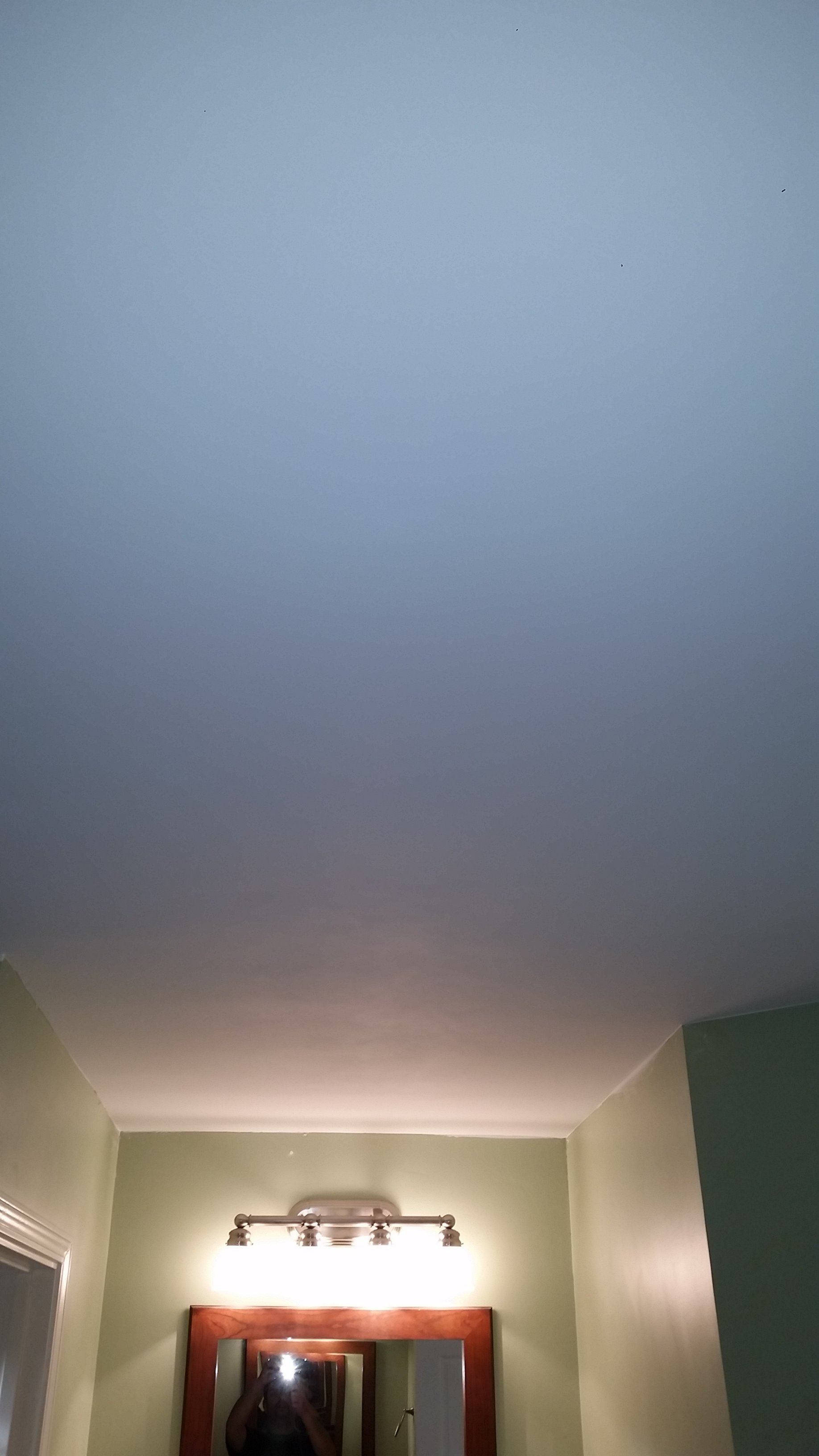 Popcorn to Smooth Finish Ceiling Conversion off of San Pablo