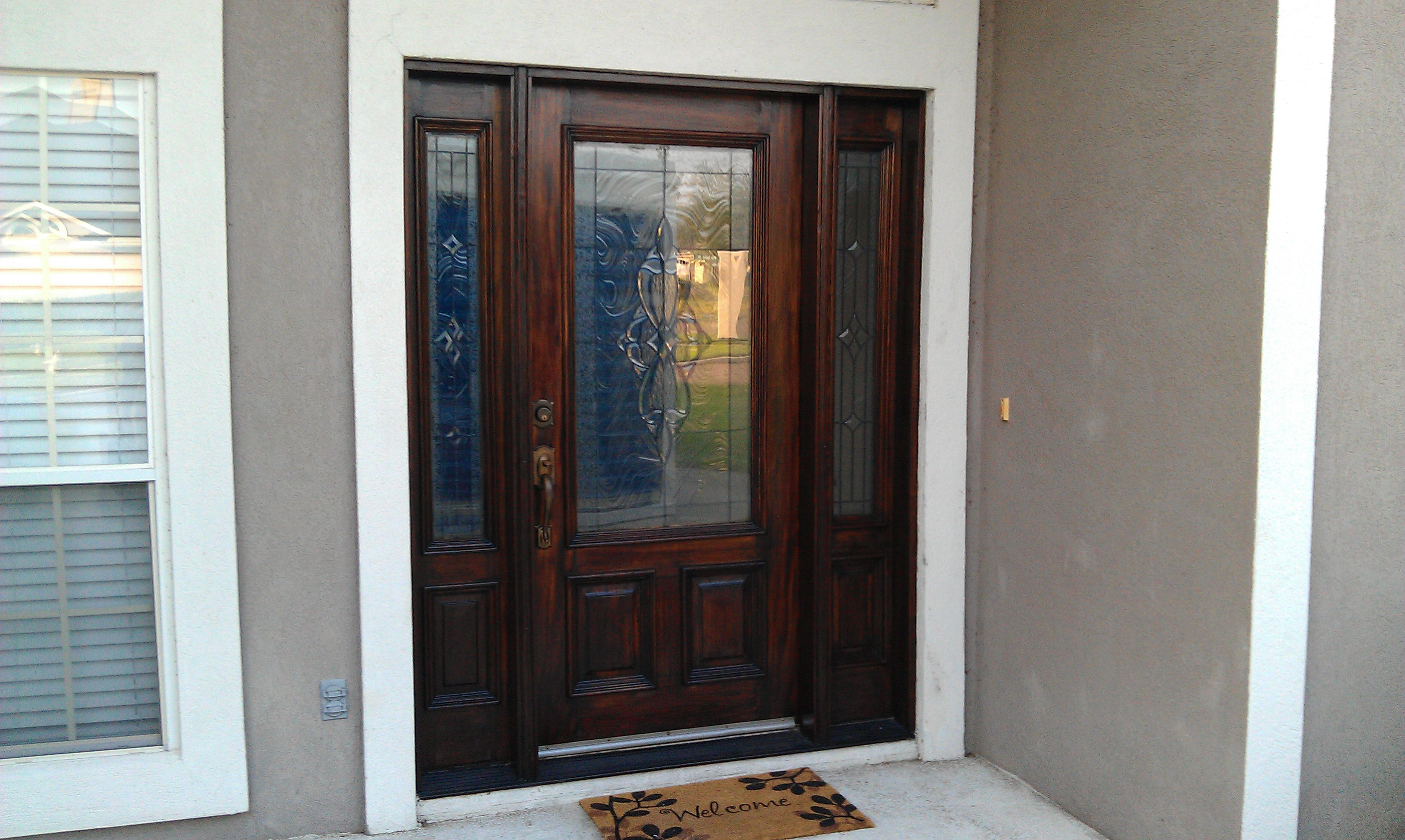 Door replacements from jacksonville home contractor for Entry door replacement