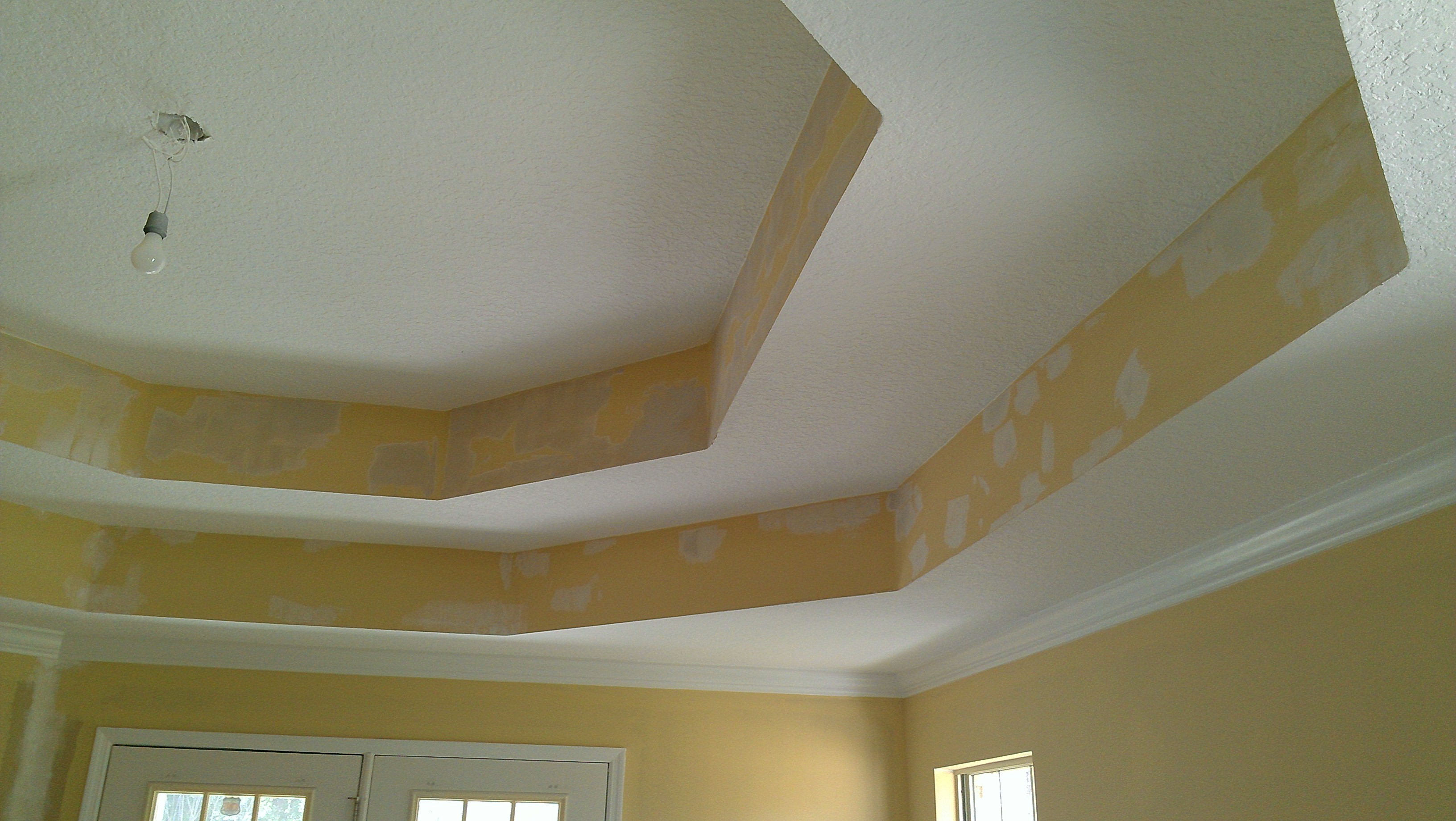 Knockdown Textured Ceiling Ceiling Contractor In Jacksonville Drywall And Popcorn Removal