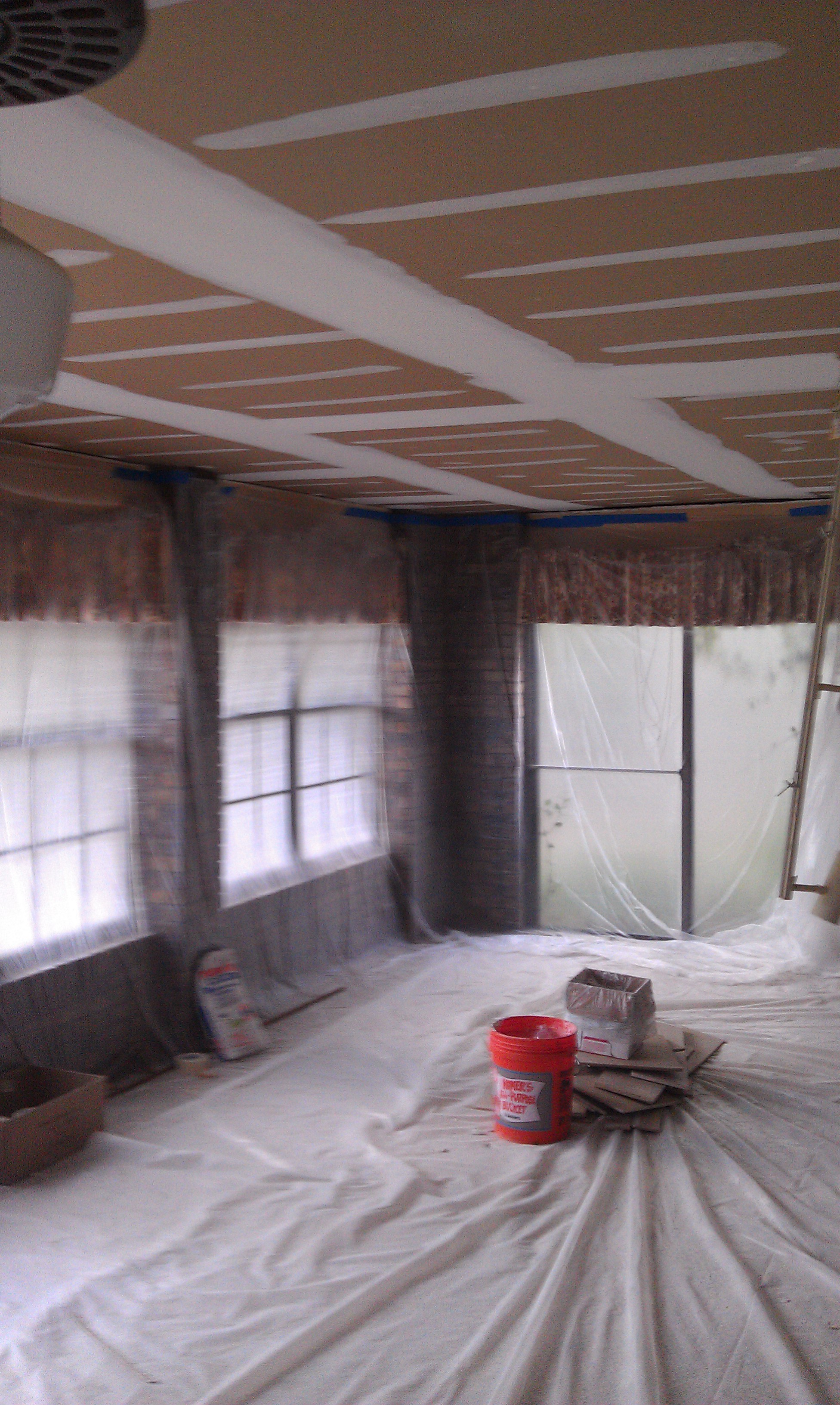 Drywall Repair Job, Jacksonville