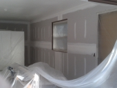 Popcorn Removal from Jacksonville Home Garage