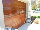 garage door finish