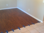 Southside Laminate Flooring Job