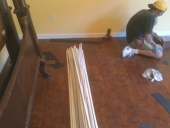 Orange Park Laminate Flooring Job