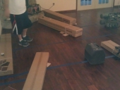 Mandarin Laminate Flooring Job