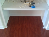 Arlington Laminate Flooring Job