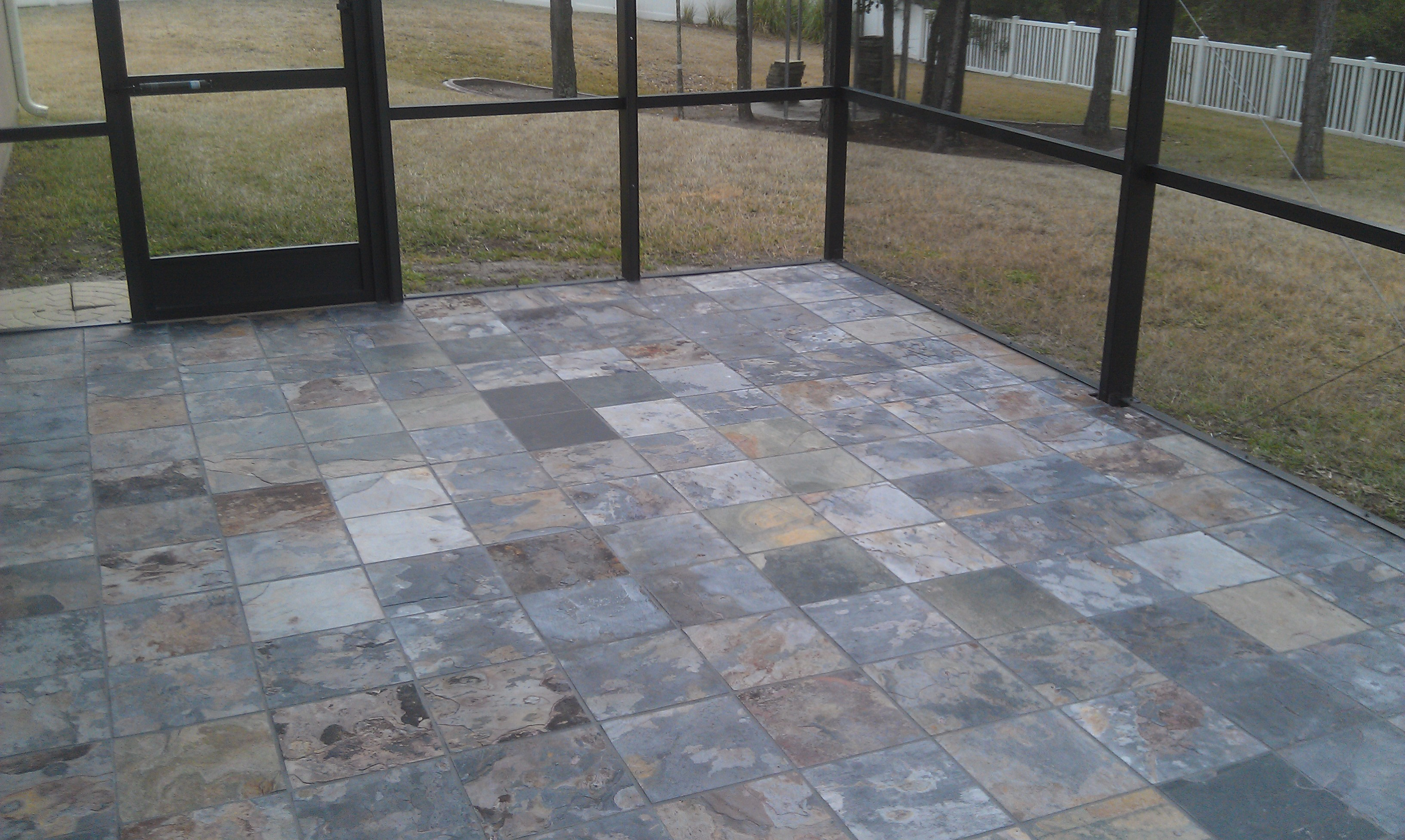 Stone Tile Flooring : Natural stone travertine flooring for jacksonville homes