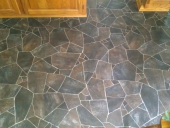 Arlington Travertine Flooring, Residential Job