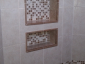 Shower Tile Flooring Job for Jacksonville Home