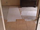 Porcelain Tile Flooring Project in Mandarin