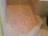Orange Park Bathroom Tile Flooring Job