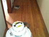 Residential Wood Flooring Job