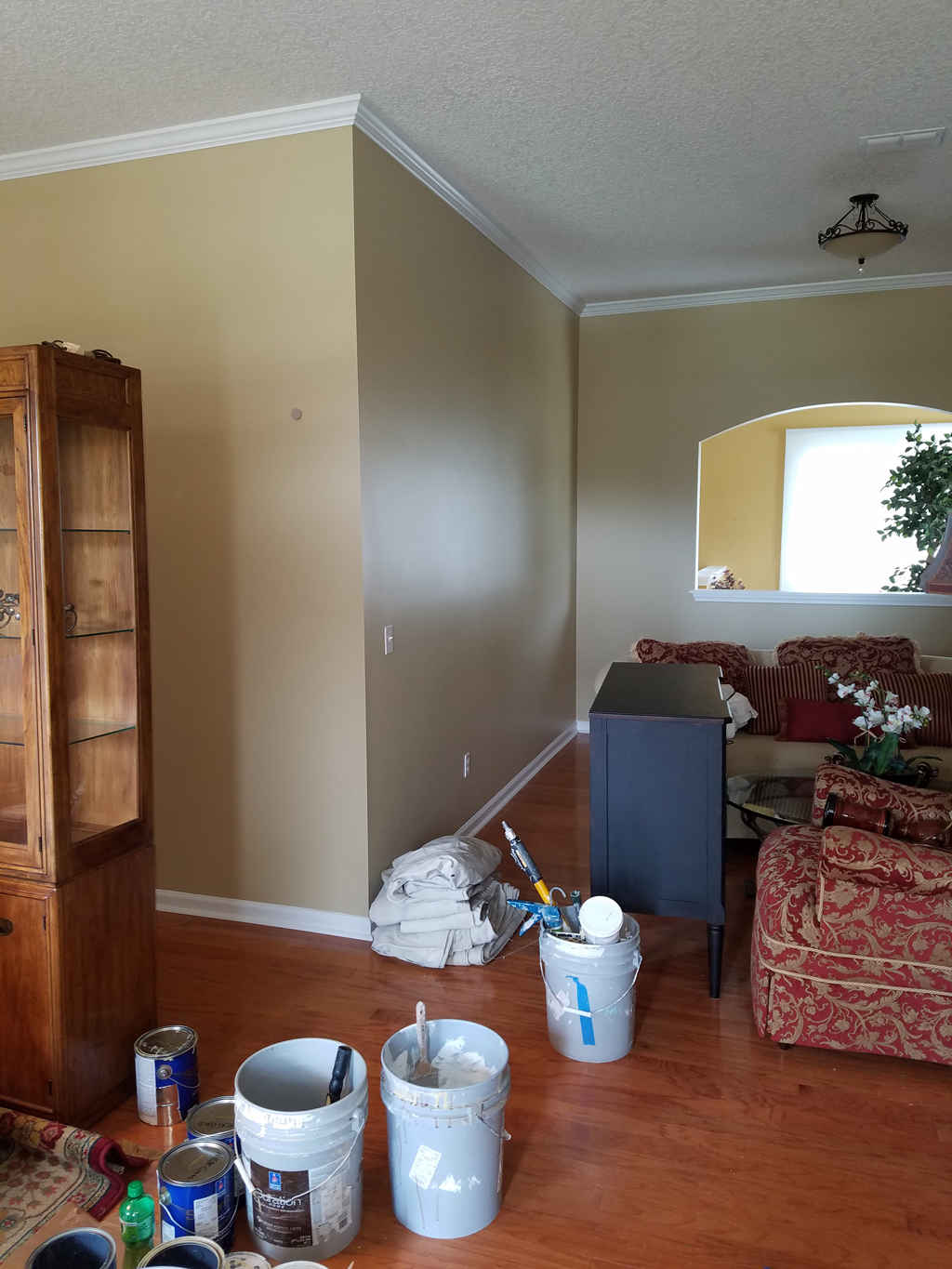 Home Interior Painting Project Off Of Hodges Blvd Jacksonville