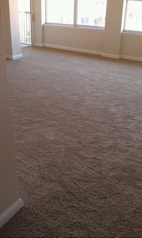 Carpet job by carpet flooring contractor in Jacksonville